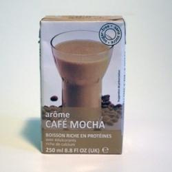 UHT Ledová káva Mocca tetra pack s brčkem