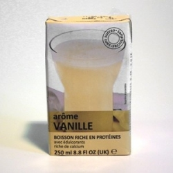 UHT Vanilkový nápoj tetra pack s brčkem